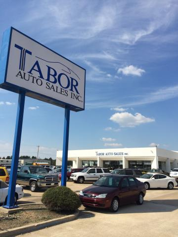 Buy used cars at Tabor Auto Sales Inc. in Paragould Arkansas. Buy here and pay here - we finance.